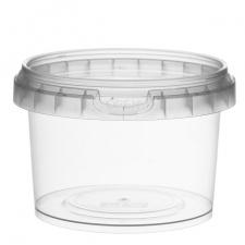 Plastikinis indelis su dangteliu 280 ml, 1 vnt