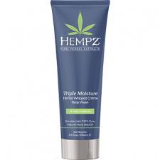 HEMPZ intensyviai drėkinantis purios konsistencijos kūno prausiklis su augaliniais ekstraktais, 250 ml