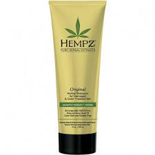 HEMPZ maitinamasis šampūnas pažeistiems ir dažytiems plaukams su augaliniais ekstraktais, 265 ml