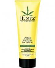 HEMPZ maitinamasis kondicionierius pažeistiems ir dažytiems plaukams su augaliniais ekstraktais, 265 ml