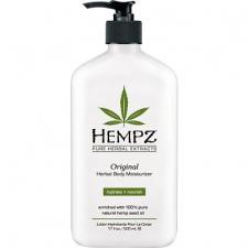 Drėkinantis kūno pienelis su augaliniais ekstraktais Hempz Herbal Moisturizer, 500 ml