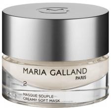 MARIA GALLAND švelni kreminė kaukė veidui su braškių ekstraktu ir vitaminu B6, 50 ml