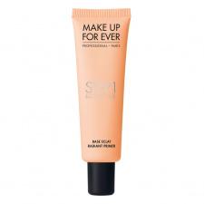MAKE UP FOR EVER odos spalvą koreguojantis makiažo pagrindas (persikinis), RADIANT PRIMER, 30 ml