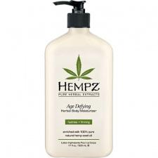 Drėkinantis kūno pienelis su augaliniais ekstraktais prieš odos senėjimą Hempz Age Defying Moisturizer , 500 ml