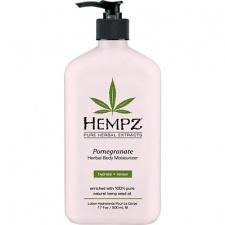 Drėkinantis kūno pienelis su granatų ir žolelių ekstraktais HEMPZ Herbal Pomegranate Moisturizer, 500 ml