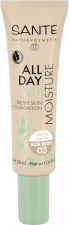SANTE Drėkinamasis makiažo pagrindas All Day Moisture 24h Fresh Skin Foundation, 30 ml