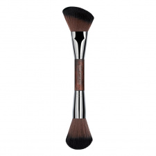 MAKE UP FOR EVER dvipusis teptukas modeliavimui 158 DOUBLE-ENDED SCULPTING BRUSH - 158