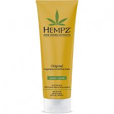Kūno prausiklis suteikiantis odai žvalumo HEMPZ Original Invigorating Herbal Body Wash, 250 ml