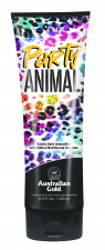 AUSTRALIAN GOLD kremas deginimuisi soliariume Party Animal™, 250 ml Exotic Dark Intensifier