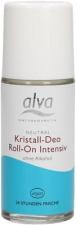 ALVA rutulinis dezodorantas su alūno kristalais Roll on Intensive, 50 ml