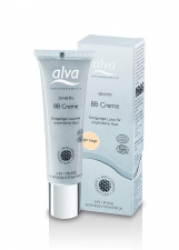 ALVA švelnus kremas su atspalviu spf20 Sensitive BB Creme - Light Beige, 30 ml