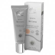 ALVA švelnus BB kremas su atspalviu spf20 Sensitive BB Creme - Medium Brown, 30 ml