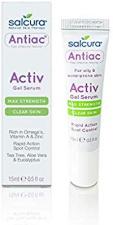 SALCURA serumas, greita, taškinė priemonė kovojant su spuogais Antiac Activ Gel, 15 ml