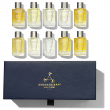 Aromatherapy Associates London Ultimate Wellbeing Vonios Ir Dušo Aliejai,  10 x 9 ml