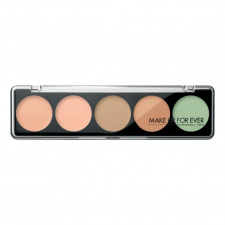 MAKE UP FOR EVER maskuojančių kremų paletė Camouflage cream palette, 5 x 2 g