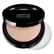 MAKE UP FOR EVER kompaktinė žvilgesį suteikianti pudra COMPACT SHINE ON, 10 g