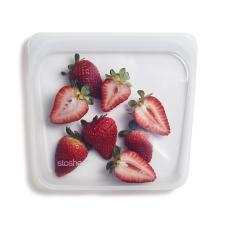 Stasher daugkartinio naudojimo silikoninis sumuštinių maišelis  SKAIDRUS, 1 vnt