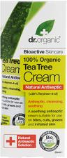 Dr. Organic veido kremas su arbatmedžių aliejumi, 50 ml