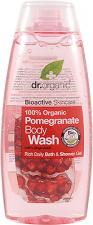 Dr. Organic dušo želė su granatais, 250 ml