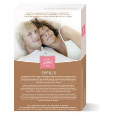 "Sifilio diagnostikos testas ""Easy Home SYFILIS"" (Imhotep Medical, Olandija), 1 testas"