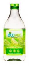 ECOVER natūralus indų ploviklis su alavilais ir citrina, 450 ml ir  950 ml