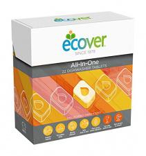 ECOVER indaplovių tabletės All-in-one, 500 g (25tabletės)