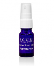 ECURI Cosmetics želė antakių plaukelių tankinimui Brow Stem Cell Activator gel, 10 ml