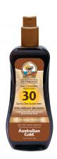 AUSTRALIAN GOLD spf 30 apsauginis purškiamas pienelis nuo saulės su bronzantu, 237 ml