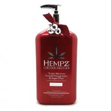 "HEMPZ drėkinantis kūno kremas ""Triple  Moisture Frosted Pomegranate & Sugar  Plum"", 500 ml"