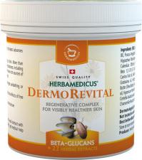 Herbamedicus regeneruojantis odos balzamas su beta gliukanais DERMOREVITAL, 250 ml