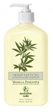 AUSTRALIAN GOLD drėkinantis losjonas po deginimosi Hemp Nation Vanilla Pineapple, 535 ml