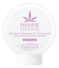 """HEMPZ drėkinantis kūno ir veido kremas (šilkas) """"Blueberry Lavander & Chamomile"""", 250 ml"""