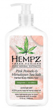 HEMPZ drėkinantis kremas Pink Pomelo & Himalayan Sea Salt Body Moisture, 500 ml