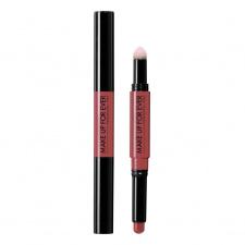 MAKE UP FOR EVER lūpas modeliuojantis ir putlinantis dvispalvis lūpų pieštukas/lūpdažis PRO SCULPTING LIP 2-in-1 Lip Sculpting Pen, pasirinkimui 4 spalvos, 1 + 0.9 g