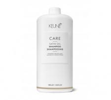Šampūnas sausiems, porėtiems plaukams SATIN OIL KEUNE CARE, 1000 ml