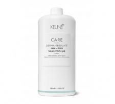 KEUNE CARE šampūnas riebaluotis linkusiems plaukams DERMA REGULATE, 1000 ml