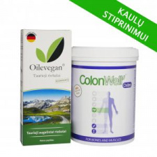 ColonWell Osteo + Oilevegan Taurieji augaliniai riebalai