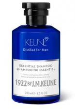 KEUNE kasdienio naudojimo šampūnas plaukams ir kūnui  1922 by J. M. ESSENTIAL, 250 ml ir 1000 ml