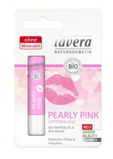 LAVERA lūpų balzamas Pearly Pink, 4,5 g