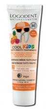 LOGONA vaikiškas dantų valymo gelis su tutti-frutti aromatu Logodent Cool Kids, 50 ml