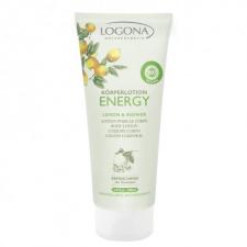 Logona Energy Kūno losjonas su citrinomis ir imbieru, 200 ml