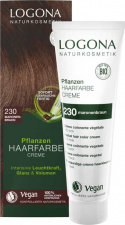 Logona Augaliniai kreminiai plaukų dažai Herbal Hair Color Cream 230 Chestnut brown, 150 ml