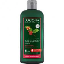 Logona Šampūnas su ekologišku kofeinu ir goji uogomis Age Energy, 250 ml