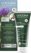 LOGONA plaukų spalvą po dažymo augaliniais dažais užfiksuojanti priemonė Color Fix After-Treatment, 100 ml