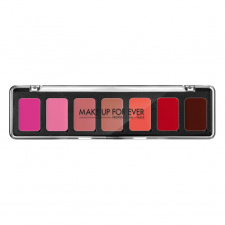 MAKE UP FOR EVER Lūpų dažų paletė ARTIST ROUGE 7 LIPSTICK PALETTE, 7x01g