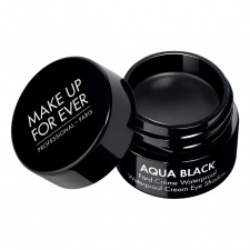 MAKE UP FOR EVER kreminis akių pravedimas atsparus vandeniui AQUA BLACK WATERPROOF CREAM EYE SHADOW, 7 g