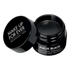 MAKE UP FOR EVER kreminis akių pravedimas atsparus vandeniui AQUA BLACK WATERPROOF CREAM EYE SHADOW, 7 g