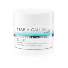 MARIA GALLAND D-410 Eksfolijuojantys (suragėjusią odą pašalinantys) diskeliai su glikolio rūgštimi, 60 vnt