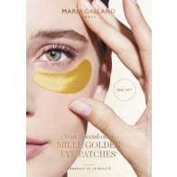 MARIA GALLAND paakių kaukė - kompresas su auksu, 2 vnt (1 pakuotė)