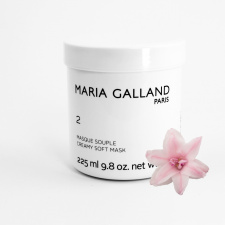 MARIA GALLAND 2 švelni kreminė kaukė veidui su braškių ekstraktu ir vitaminu B6, 225 ml